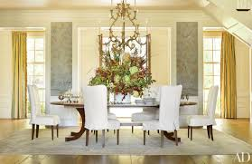 Dining Room Decorating Ideas On A Budget Sophisticated Dining Room Decor By Ad100 Designers Photos