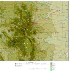 Map Of Utah And Colorado by Colorado Map Online Maps Of Colorado State