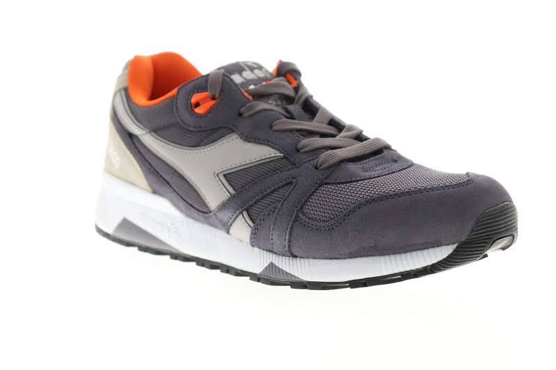 Diadora N9000 III 171853-C7738 Gray Suede Lace Up Low Top Sneakers Shoes
