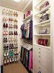 Interior: Modern Beige Walk In Closets Design Ideas, walk in ...