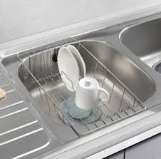 STOPIA Sink Drainer Dish Drying Half Sink Tray Stainless Steel - Kitchen sink dish rack