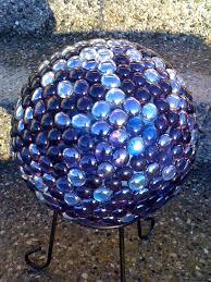 Gazing Ball Fountain Gazing Ball For The Garden Make Out Of Bowling Balls U0026 Glass Beads
