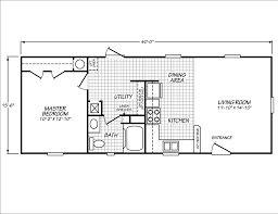 Houses With 2 Master Bedrooms 14x40 Cabin Floor Plans Tiny House Pinterest Cabin Floor