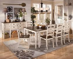 ashley furniture white dining room sets brockhurststud com