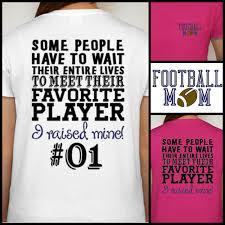 football mom t shirt proud football mom shirt sports fan