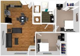 Two Bedroom Apartment Floor Plans Floor Plans U0026 Pricing University Place West Virginia University