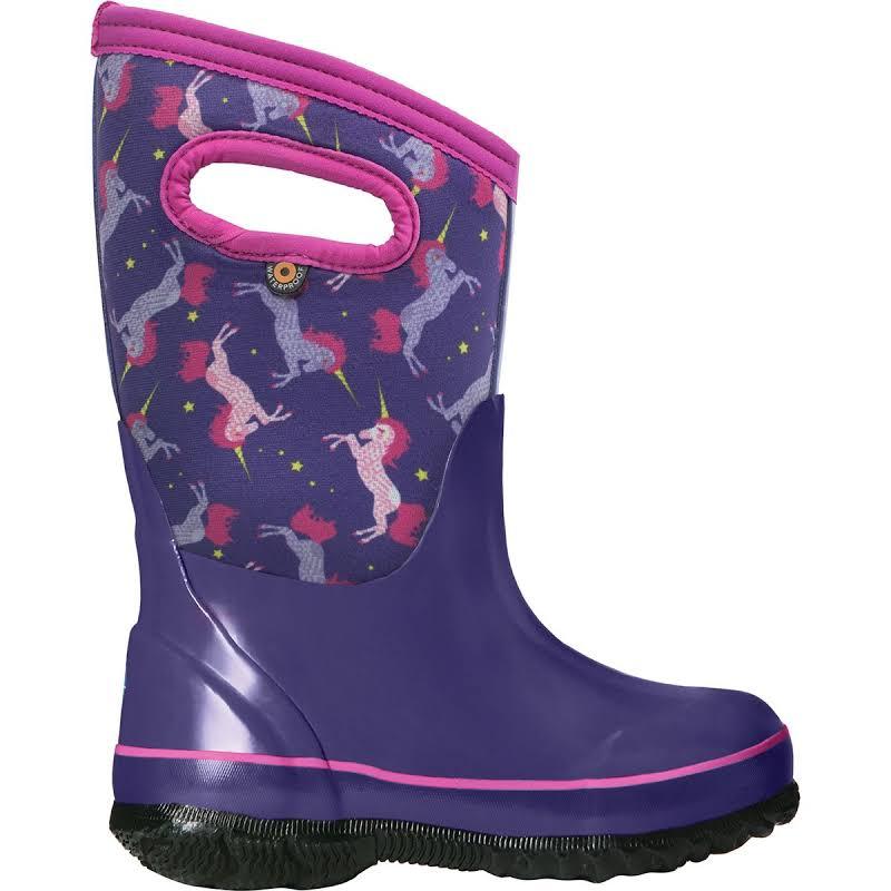 Bogs Classic Unicorns Purple Multi Medium 13 72329-540-M-13