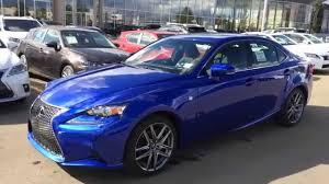 lexus is sedan 2016 new ultrasonic blue mica 2015 lexus is 250 awd f sport series 2