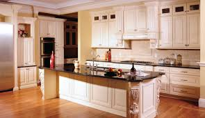 Antique Painted Kitchen Cabinets Fascinating Cream Colored Painted Kitchen Cabinets Also With
