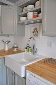 stunning white beadboard kitchen cabinets reviews on american