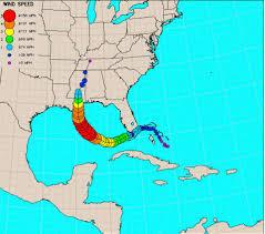 Map Florida Gulf Coast by 16 Maps And Charts That Show Hurricane Katrina U0027s Deadly Impact