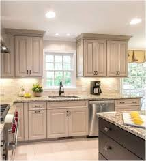 Kitchen Cabinets Stain Taupe Kitchen Cabinets Love The Dark Stain Color On The Island