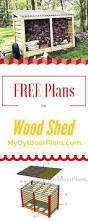 Free Wooden Garbage Box Plans by Best 25 Wood Storage Sheds Ideas On Pinterest Small Wood Shed