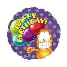 Garfield the Cat Happy