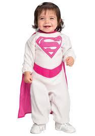 Supergirl Halloween Costume Infant Pink Supergirl Costume