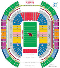 Phoenix Zoo Map by Overview And Map To University Of Phoenix Stadium In Az
