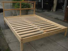 Make A Platform Bed With Storage by Bed Frames Diy King Bed Frame With Storage How To Build A Wooden