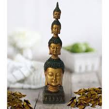 lord buddha statue size 26 5 cm x 6 cm golden
