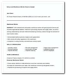 Sample Of Warehouse Worker Resume by Warehouse Worker Resume Template Httpgetresumetemplateinfo3295