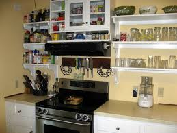 Kitchen Shelf Decorating Ideas Styling Your Open Shelves In Kitchen To Get Modern Looks Black