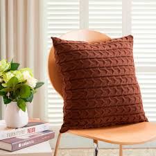 Knitted Cushions With Buttons Popular Knit Cushions Buy Cheap Knit Cushions Lots From China Knit