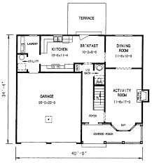 featured house plan pbh 3684 professional builder house plans