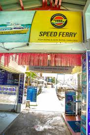 speed ferry ticket offices and boats to koh rong samloem islands