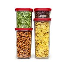 amazon com rubbermaid modular canisters premium food storage