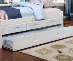 White Bookcase With Drawers by White Full Size Bookcase Captain U0027s Day Bed With Trundle 0223 Day