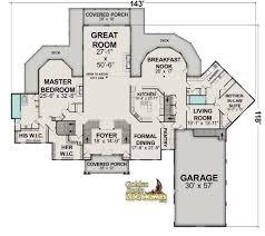 Home Floor Plan Layout 35 U0027 X 35 U0027 And Pass Log Home Floor Plan Main Floor By