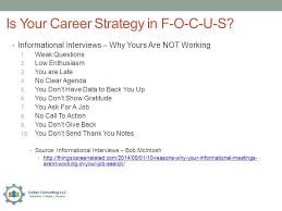 IS YOUR CAREER STRATEGY IN F O C U S   Is Your Career Strategy in     SlidePlayer Is Your Career Strategy in F O C U S