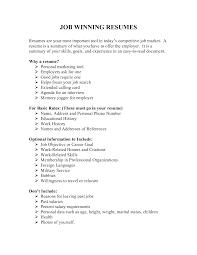 sample resume simple winning resume examples vice president sales sample resume vp job resumes simple job resume sample templates experience resumes templates for resumes 20149108 job resumeshtml winning