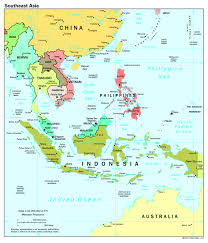 South America Map And Capitals by Large Scale Political Map Of Southeast Asia With Capitals 1997