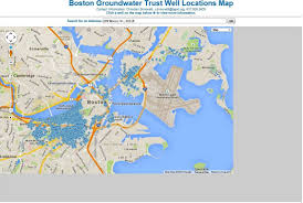 Boston Logan Map by Well Map Page Boston Groundwater Trust
