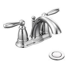 Discount Moen Kitchen Faucets Moen Brantford Two Handle Low Arc Centerset Bathroom Faucet With