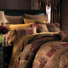 Red King Comforter Sets Brown Gold Red Patchwork Curtain Google Search Ideas For The