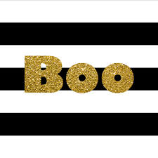 happy halloween banner free printable black u0026 gold halloween free printable lillian hope designs