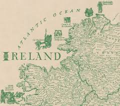 Map Of Ireland And England This Brilliantly Detailed Map Of Ireland Lists Over 700