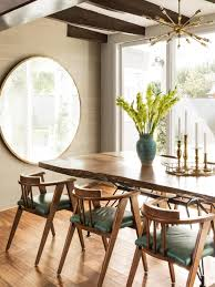 Mid Century Modern Dining Room Tables Mid Centry Modern Decorating Ideas Vintage Mirrors Hgtv And