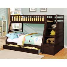 Bunk Beds With Slide And Stairs Bedroom Stair Bunk Beds Bunk Bed With Steps And Drawers