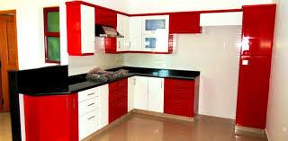 Red And Black Kitchen Ideas Apartments Modular Kitchen Colour Combination Archaicfair