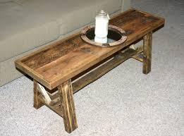 Rustic Wood Living Room Furniture Coffee Table Amusing Narrow Coffee Table Designs Glamorous Teak