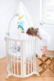 baby cribs posh cribs circle crib round bassinets and cribs