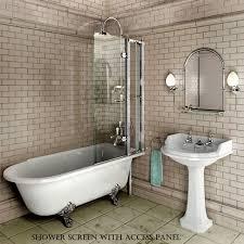 burlington hampton traditional shower bath uk bathrooms