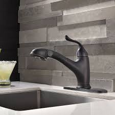Oil Rubbed Kitchen Faucets Mona Oil Rubbed Bronze Kitchen Sink Faucet