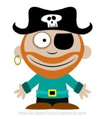 Image result for cartoon pirates
