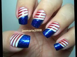 55 most stylish fourth of july nail art designs