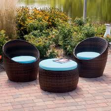 White Resin Wicker Outdoor Patio Furniture Set - resin wicker patio furniture painted rattan chairs resin wicker