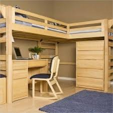 Plans For Bunk Bed With Steps by Top Bunk Bed With Desk Underneath Foter