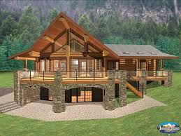 cool design ideas cabin house plans with basement small cabins